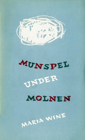 Munspel under molnen